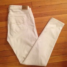 Abercrombie white jeans Abercrombie white jeggings Abercrombie & Fitch Jeans Skinny