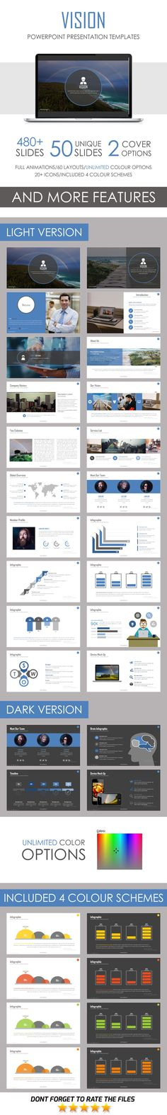 Vision PowerPoint Template. Download here…