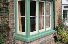 19th Century House Bay Window Renovation Case Study by Ventrolla.  Ventrolla East Anglia has completed a five day project to renovate the period windows on a 19th century Cambridgeshire house.  The wooden front bay window on the property, which is owned by Michelle Wolfe, was carefully renovated and draught proofed as part of the project.