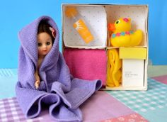 tiny doll bath kit