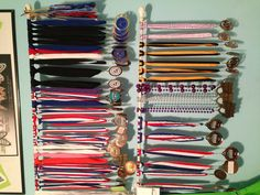 Can't think of a way to display medals and ribbons for yours or your kids' sports? Easy. Mount them on a curtain rod!