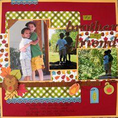 www.mycreativescrapbook.com October 13 Album kit featuring Doodle Bug's Happy Harvest