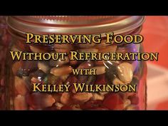 Join Kelley Wilkinson as she teaches us about making the most of the harvest by finding ways to preserve food without canning and minimizing refrigeration. Do It Yourself Videos, How To Make Pickles, Garden Tool Storage, Dehydrated Food, Dehydrator Recipes, Emergency Preparedness, Survival, Eating Organic, Food Facts
