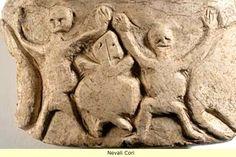 Nevali Çori, es un asentamiento neolítico cerca del río Eufrates, 500 años posterior a Göbekli Tepe.