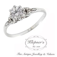 VINTAGE INSPIRED CLASSIC ENGAGEMENT RING. This classic vintage inspired engagement ring can be customized to include any combination of diamonds and/or gemstones such as sapphires, rubies, emeralds, birthstones, anniversary stones, etc & can be crafted in 9ct or 18ct white, rose or yellow gold, platinum or sterling silver. Prices vary depending on your unique specifications, please don't hesitate to contact us for a quote tailored for you. Visit us at www.klepners.com.au