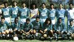 En 1989 cuando atlético Nacional se coronó campeón de la copa libertadores de América