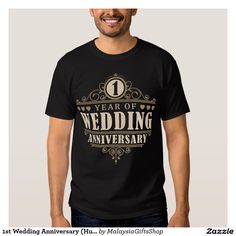 1st Wedding Anniversary (Husband) T-shirts