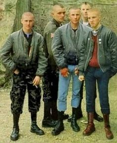 Skinheads~small penis and small minds lol