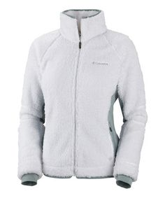 Another great find on #zulily! White Pearl Plush Fleece Jacket - Plus #zulilyfinds