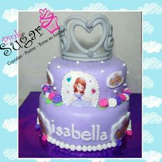 Princesa Sofia pinksugar #pinksugar #cupcakes  #barranquilla #pasteleria #reposteriacreativa #tortas #fondant #reposteriabarranquilla #happybirthday  #cake #baking  #galletas #cookies  #pinksugar #wedding #buttercream #vainilla #minion #oreo #music #cupcakesbarranquilla #brownie #brownies #chocolate #teamo #amoryamistad #princesasofia #sophiathefirst