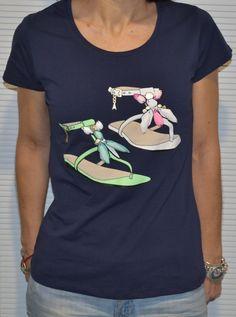 Echa un vistazo a este producto en Yodetiendas.com:  Camiseta sandalias
