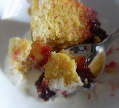 Steamend Cherry Bakewell Pudding  The English Kitchen