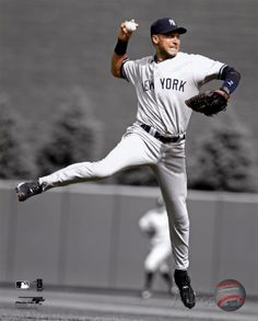 Derek Jeter 2010 Spotlight Action Photo at AllPosters.com