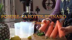 Jus de légumes et de fruits pour débutants.