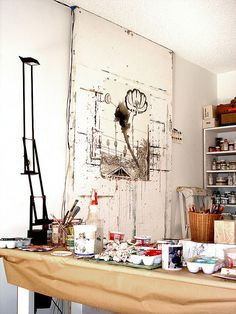 That would be awesome to have for an art studio.