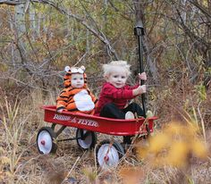 Funny pictures about Calvin and Hobbes out for a ride before trick or treating. Oh, and cool pics about Calvin and Hobbes out for a ride before trick or treating. Also, Calvin and Hobbes out for a ride before trick or treating. Costume Halloween, Halloween Outfits, Halloween Kostüm Joker, Homemade Halloween Costumes, Holidays Halloween, Brother Halloween Costumes, Halloween Ideas, Frog Costume, Tiger Costume
