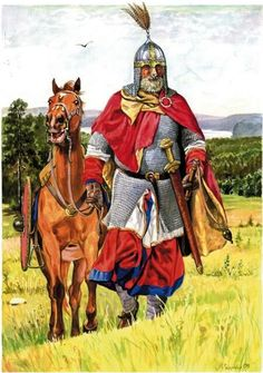 RUSSIANS - In the documents of the 8-10th centuries RUSY (the ancient name of Russia's nation) headed all Slavic people who entered The Rus State. According to researches of the 8-20th centuries, Rusy were direct descenders of The Normans who played a major political, military, and cultural role in medieval Europe and even the Near East.