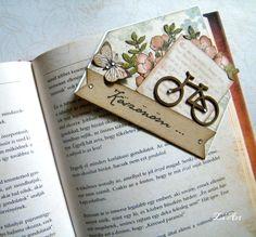 Sarok könyvjelző / Corner bookmark