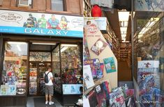 galaxy collectibles park slope comics marvel brooklyn new york nyccrazygirl Captain America, Iron Man, New York Shopping, Spiderman, Ville New York, Brooklyn New York, Crazy Girls, Super Heros, Marvel Comics