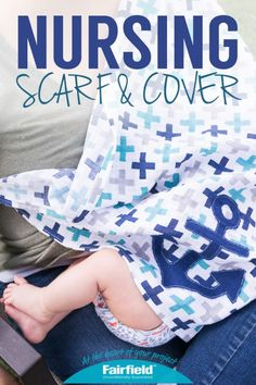 DIY Embrace Double Gauze Nursing Scarf and Cover