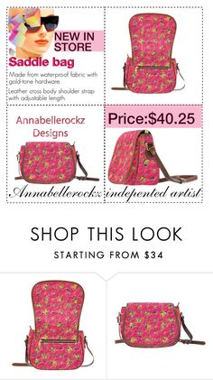 """""""Saddle bag/Annabellerockz"""" by annabellerockz ❤ liked on Polyvore featuring D&G"""