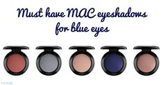 Make your blue eyes pop with our guide to the best eyeshadow colours to buy from MAC, create your own palette over time with these must-haves Best Mac Eyeshadows, Mac Eyeshadow Looks, Mac Eyeshadow Palette, Eyeshadow For Blue Eyes, Best Eyeshadow, Blue Eye Makeup, Colorful Eyeshadow, Mac Makeup, Makeup Tips
