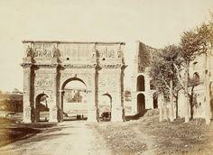 Arco di Costantino 1860
