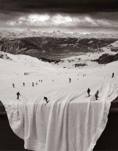 Double exposure by Thomas Barbèy