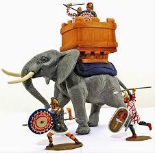 Image result for elefante da guerra 54mm