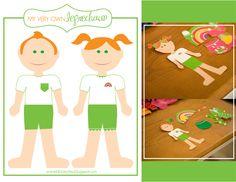 kiki creates: A Fun Freebie!  Leprechaun paper dolls