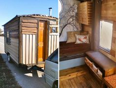 I dream of someday living in a micro home...