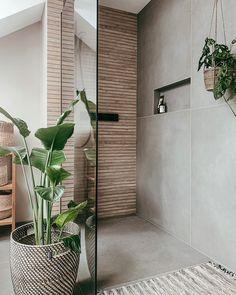 Tiny Bathrooms, Beach Bathrooms, Guest Bathrooms, Modern Bathroom, Home Room Design, Bathroom Interior Design, House Design, Bad Inspiration, Bathroom Inspiration