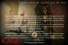 """#COMINGSOON  HELL on HEELS  An Asphalt Gods' MC Novel  Morgan Jane Mitchell  An Asphalt Gods' MC Novel. Full length, Stand Alone. +18 for sexual situations, language and violence. """"They say time heals all wounds, but my time's done run out. I'm no spring chicken, but it's more than that. I've been mad as hell for far too long. It's made me a different woman, a bitter woman. No, they don't call me Rage for nothing—I'm a twisting bitch tornado and that's before you make me mad. When I'm not…"""