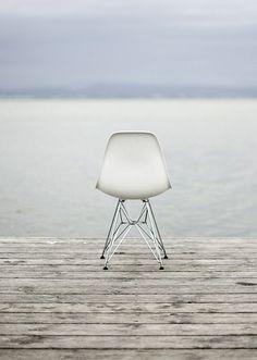 Eames on sea ...simple elegance