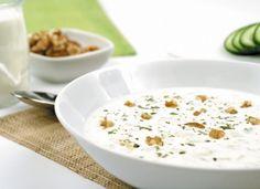 Sopa fría tarator para #Mycook http://www.mycook.es/cocina/receta/sopa-fria-tarator
