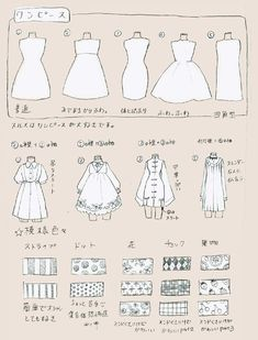 The idea of ​​designing a girl's clothes - come to paint it. Manga Drawing Tutorials, Art Tutorials, Drawing Sketches, Art Drawings, Fashion Drawing Tutorial, Dress Sketches, Drawing Tips, Manga Clothes, Drawing Clothes