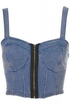 jeans bralet