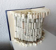 Hey, I found this really awesome Etsy listing at https://www.etsy.com/listing/157075531/book-art-sculpture-silk-dress