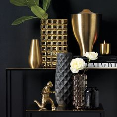 Textured vases from CB2 20 Modern Vases with Sleek Style