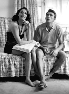 Ava Gardner and Walter Chiari