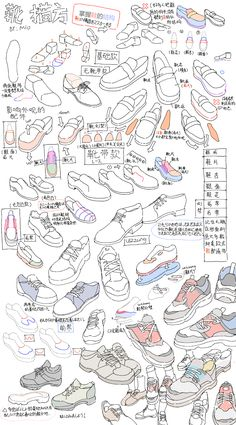 Body Reference Drawing, Art Reference Poses, Sketches Tutorial, Drawing Clothes, Shoe Drawing, Digital Art Tutorial, Art Poses, Art Studies, Manga Drawing