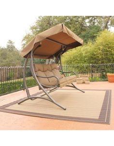 santa fe glider canopy swing set 3person futon swing replacement canopy riplock    best value buy      rh   pinterest