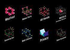 Design Route E: Wireframe World – Mozilla Open Design Wireframe, Pictogram, One Design, Literacy, Branding, Logos, World, Movie Posters, Key