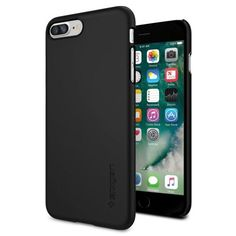 Köp Spigen iPhone 7 Plus Case Thin Fit Black online: http://www.phonelife.se/spigen-iphone-7-plus-case-thin-fit-black