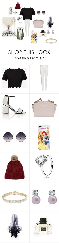 """lovey perfect outfit"" by miacarruthers on Polyvore featuring Ted Baker, Polo Ralph Lauren, Alexander Wang, Michael Kors, Spitfire, Disney, C-LECTIVE, Pandora, Finesque and Lido Pearls"