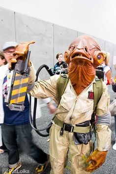 The 40 Most Insane Cosplays At San Diego Comic-Con 2015 - Ghostbuster Ackbar