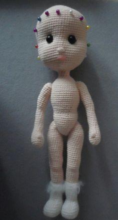 вязаная кукла крючком схема описание мк