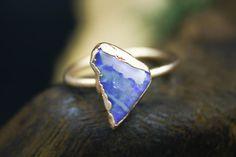 Australian Opal Engagement Ring in Rose Gold Chakra Healing, Crystal Healing, Types Of Crystals, Rustic Jewelry, Raw Gemstones, Teardrop Necklace, Australian Opal, Modern Bohemian, 18k Rose Gold
