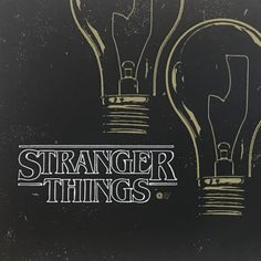 """Title: Stranger Things Poster artist: Chris Garofalo Edition: 1st edition AP """"Artist Proof"""" hand numbered Year: 2016 Type: Limited edition screen printed poster Size: 24x12 Notes: this poster has a la"""