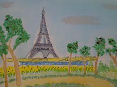 Year 7 work   Paris